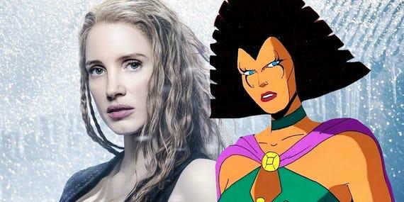 Jessica-Chastain-and-X-Men-villain-Lilandra