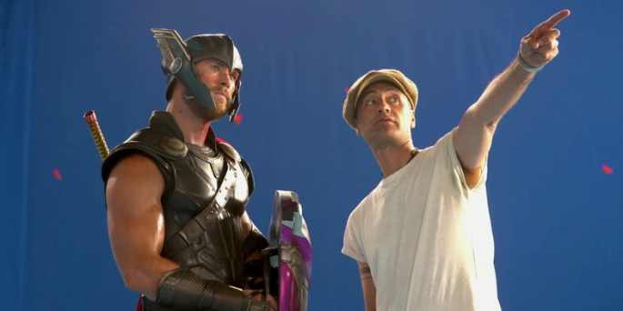thor-ragnarok-bts-chris-hemsworth-taika-waititi